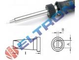 LTH08 Ponta Fenda 0,8mm x 0,4mm x 13,5mm para Ferro de Solda WP / WSP80