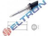 XHTE Ponta Fenda  7,6mm x 1,5mm para  Ferro de Solda WP / WXP200