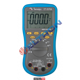 Multimetro Digital ET2076A Minipa