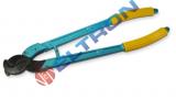 LK250 Tesoura para corte de cabos de cobre ou aluminio ate 250 mm², laminas aco de alta resistencia