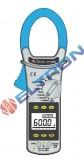 Alicate Amperímetro /Megômetro CAT III / Modo INRUSH  /Filtro de Alta frequência (HFR) ET3890 MINIPA