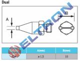 FD4 Ponta de Solda Dual para HAP1/HAP200