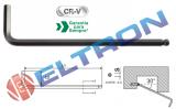 220840BR CHAVE ALLEN ABAULADA BELZER 1,5mm