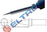 ETP Ponta de Cônica 0,8mm x 0,30mm x 15,9mm para Ferro de Solda TC201TBR/LR21