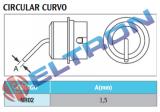 NR02 Bocal Circular Curvo 1,5mm para WHA900