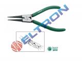 Alicate para Anéis Externos Bico Reto ST72001ST 7