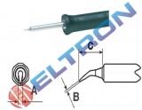 NTAXBR Ponta de Fenda Curva 1,6mm x 0,4mm X 8,2mm para Ferro de Solda WMPBR