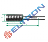 Lima rotativa forma cilíndrica forma A 60mm 20143N Nicholson