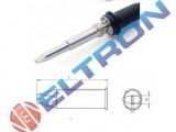XHTD Ponta Fenda  5,0mm x 1,2mm para  Ferro de Solda WP / WXP200